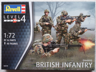 Revell 1/72 RV02519 British Infantry (Modern)